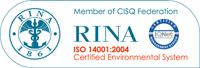 Certificazione RINA ISO 14001