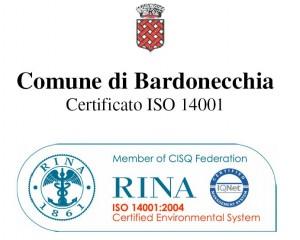 cliccate sul certificato ISO 14001 ottenuto dal Comune di Bardonecchia per vederne l'ingrandimento
