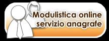 MODULISTICA ON LINE SERVIZIO ANAGRAFE