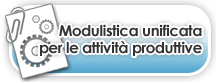 modulistica unificata per le attività produttive