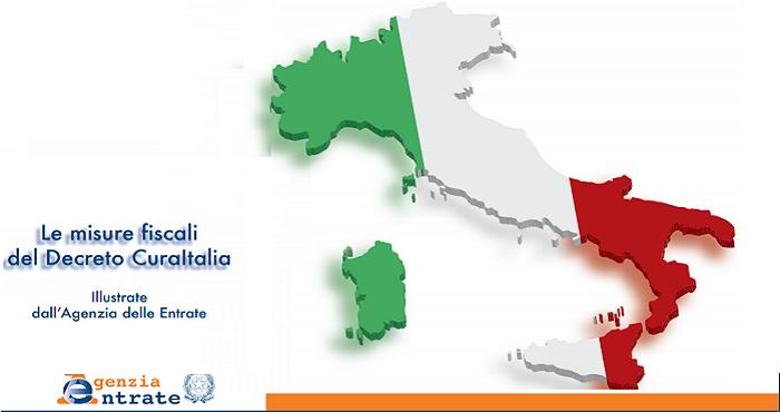 """AGENZIA DELLE ENTRATE CIRCOLARE N. 8/E """"CURA ITALIA"""""""