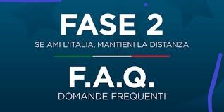 """""""FASE 2"""" – DOMANDE FREQUENTI SULLE MISURE ADOTTATE DAL GOVERNO"""