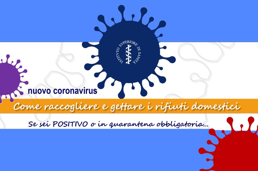 EPIDEMIA DA COVID-19 – IMPORTANTI DISPOSIZIONI PER LA RACCOLTA RIFIUTI